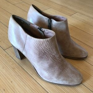 J.Crew Tan Side-zip Bootie